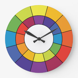 Complementary Color Wheel Clock