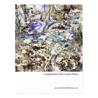 Complements of the Cosmic House Postcard