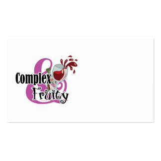 Complex and Fruity Business Card Template