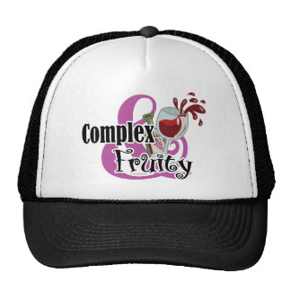 Complex and Fruity Trucker Hat