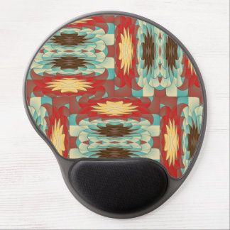Complex colorful pattern gel mouse pad