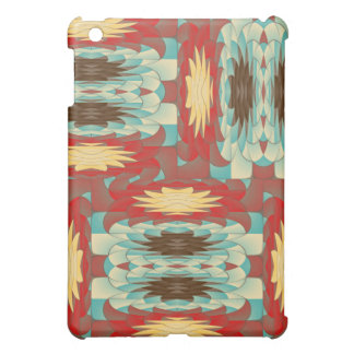 Complex colorful pattern iPad mini case