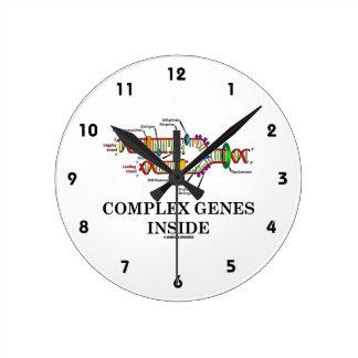 Complex Genes Inside (DNA Replication) Clock