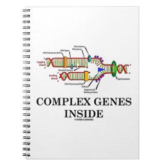 Complex Genes Inside (DNA Replication) Notebooks