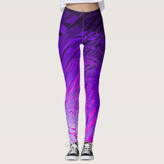 Complex Spiral Purple2 - Leggings
