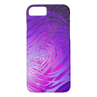 Complex Spiral Purple - Apple iPhone Case