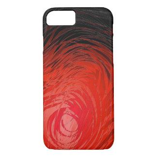 Complex Spiral Red - Apple iPhone Case