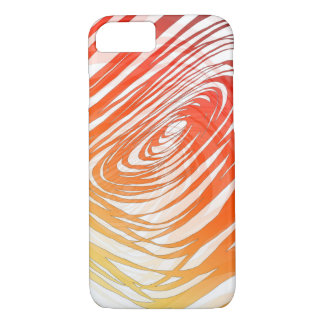 Complex Spiral Sunset1 - Apple iPhone Case