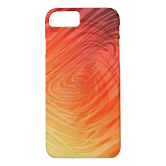 Complex Spiral Sunset2 - Apple iPhone Case