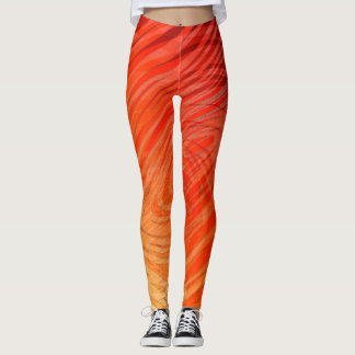 Complex Spiral Sunset -  Leggings