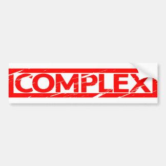 Complex Stamp Bumper Sticker