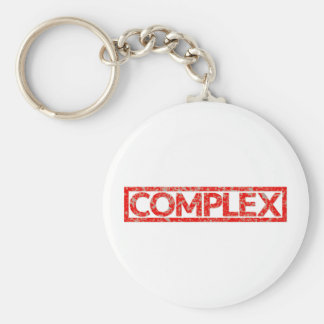 Complex Stamp Key Ring