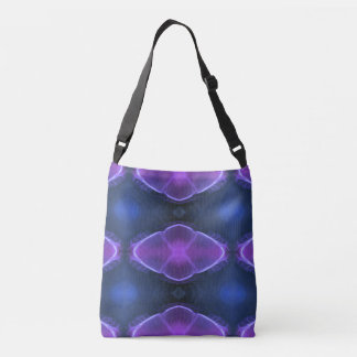 Complimentary Jellyfish Artistic  Designs Crossbody Bag
