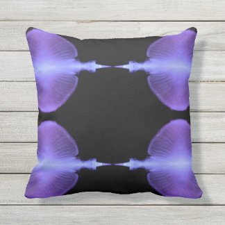 Complimentary Jellyfish Artistic  Designs Outdoor Cushion