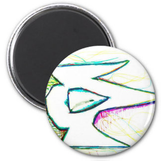 Composed from the digitas aetheric 6 cm round magnet