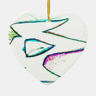 Composed from the digitas aetheric ceramic heart decoration