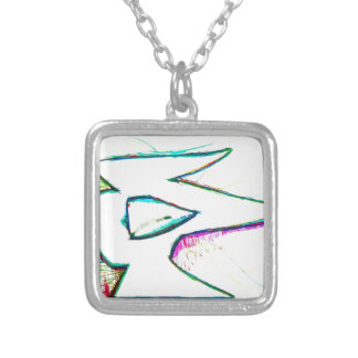 Composed from the digitas aetheric silver plated necklace