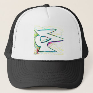 Composed from the digitas aetheric trucker hat