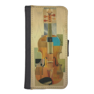 Composed Violin iPhone SE/5/5s Wallet Case