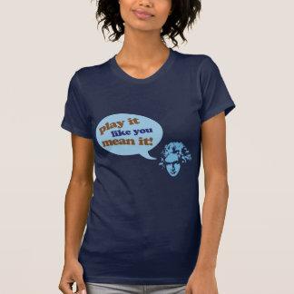 Composer Blue Beethoven Music Design T Shirt