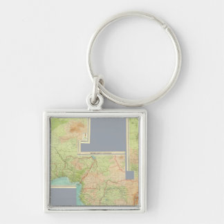 Composite Africa Key Chain
