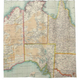 Composite Australia Shower Curtain