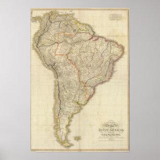 Composite Colombia Prima, S America Poster