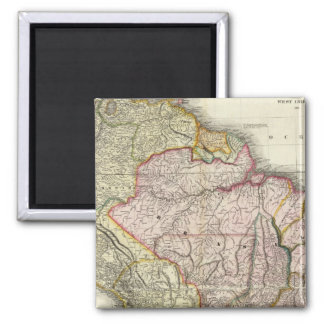 Composite South America, West Indies Refrigerator Magnet