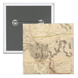 Composite Western United States 15 Cm Square Badge