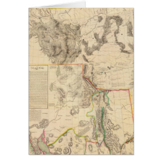 Composite Western United States Greeting Cards