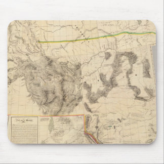 Composite Western United States Mousepad