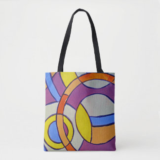 Composition #14 by Michael Moffa Tote Bag