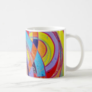 Composition #15 by Michael Moffa Basic White Mug