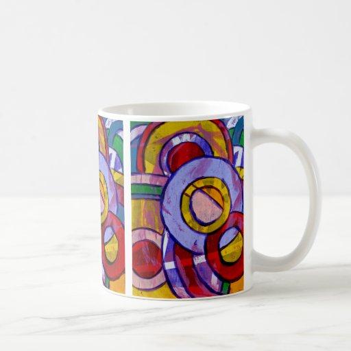 Composition #19 by Michael Moffa Coffee Mug