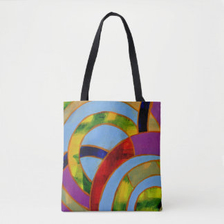 Composition #21A by Michael Moffa Tote Bag