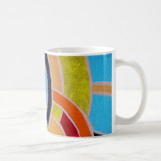 Composition #22 by Michael Moffa Basic White Mug