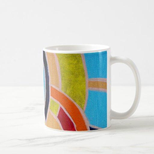 Composition #22 by Michael Moffa Coffee Mugs