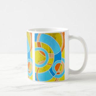 Composition #23 by Michael Moffa Basic White Mug