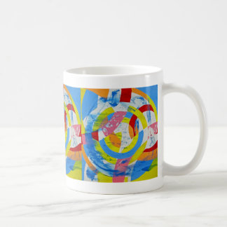 Composition #2 by Michael Moffa Basic White Mug