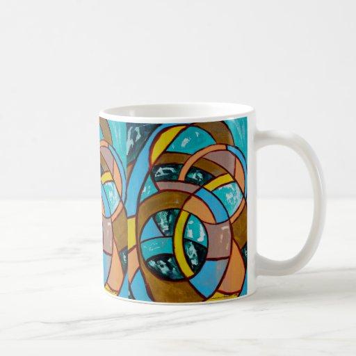 Composition #8 by Michael Moffa Coffee Mugs