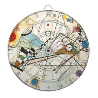 Composition 8 Kandinsky Painting Dartboard