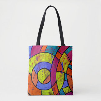 Composition #9 by Michael Moffa Tote Bag