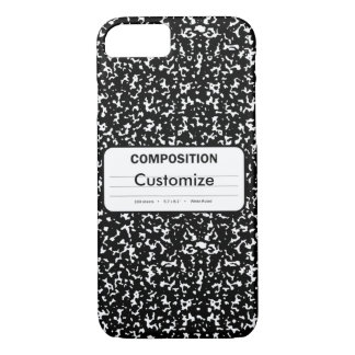 Composition Book iPhone 7 Case