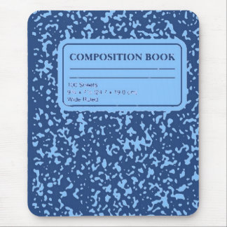 Composition Book/Student-Teacher Mouse Pad