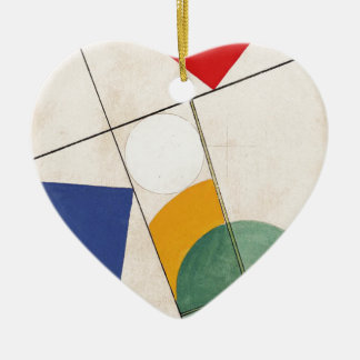Composition by Sophie Taeuber-Arp Ceramic Ornament