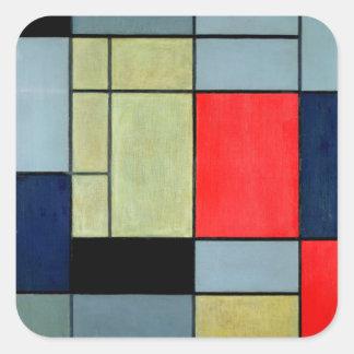 Composition I, 1920 Square Sticker