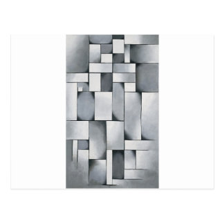 Composition in gray by Theo van Doesburg Postcard