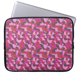 composition in rose laptop sleeve