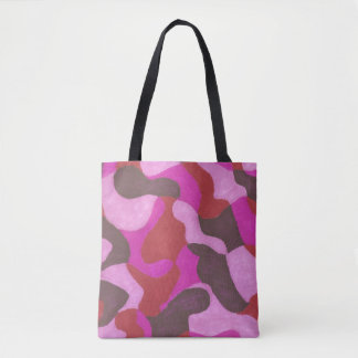 composition in rose tote bag