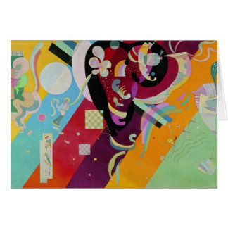 Composition IX Greeting Card